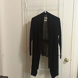 Pretty  light weight jacket with lace back
